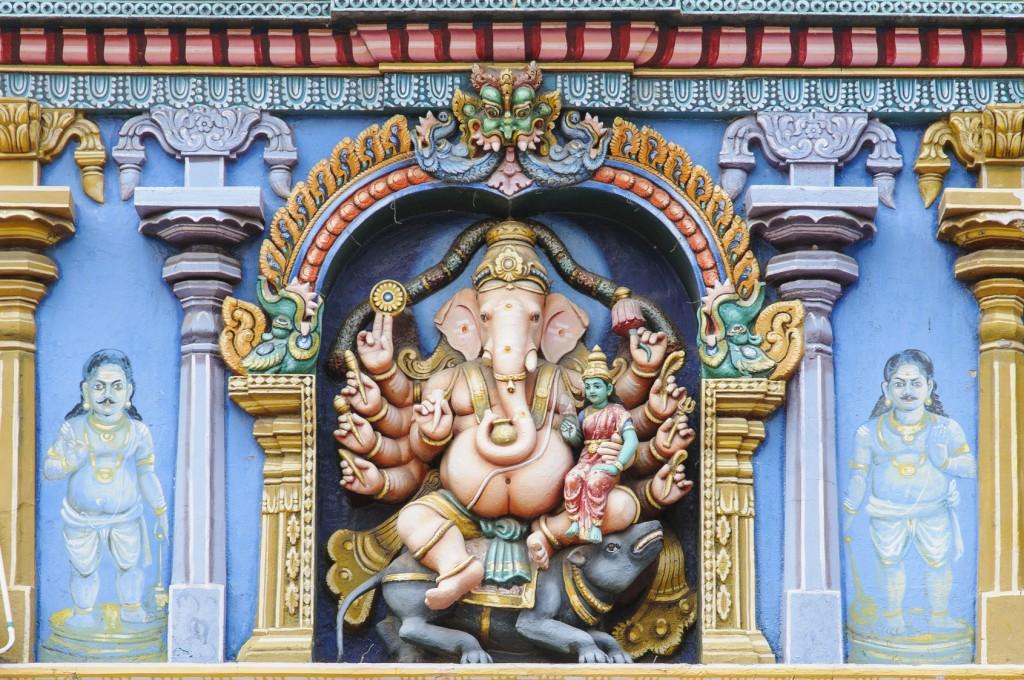 Ganesha, Minakshi-Tempel in Madurai, Indien